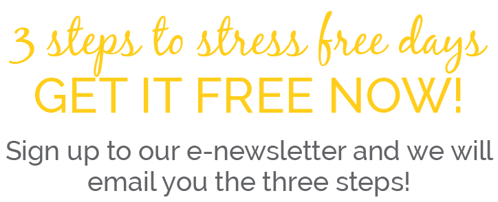 DOWNLOAD 3 STEPS TO STRESS FREE DAYS